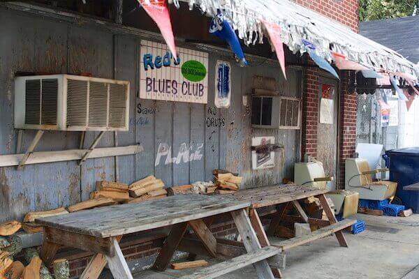 Red's Blues Club is a great Clarksdale local music venue to visit