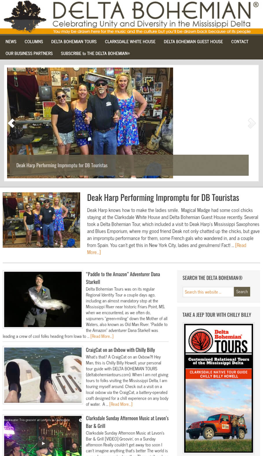 Get local Clarksdale tourism news, info, events, and more at deltabohemian.com