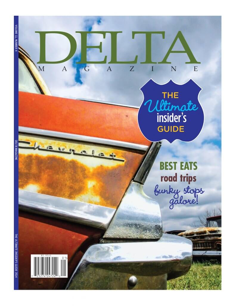 Delta Magazine Cover Jan-Feb 2014