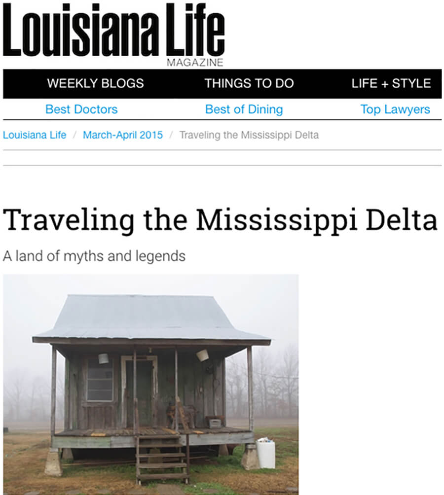 Louisiana Life Traveling in the Delta